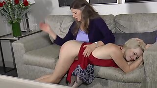 Mommy spanks sage