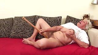Grandma Norma masturbating 3.