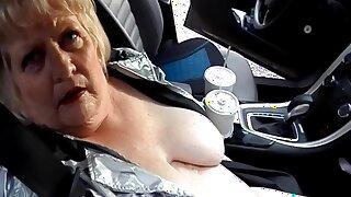 On The Road Again, Nude, Masturbating, Orgasm After Orgasm