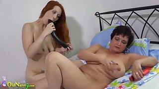 OldNanny horny and hot mature lesbians