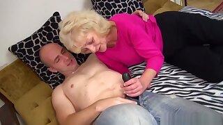 Tied Up Granny Loves It Hard