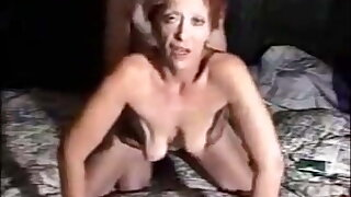 Very hot grandma with saggy tits gets fucked doggystyle