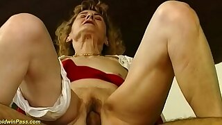 hairy 81 years old mom needs rough sex