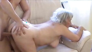 Granny Maid Gets Good Fucking