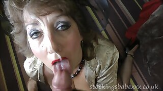 Dirty granny wants anal from the young guy