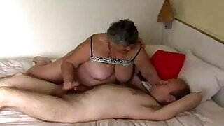 Granny is vicious and fat
