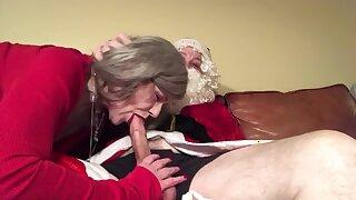 I Saw Granny Blowing Santa Claus