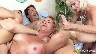 Grannies Orgy