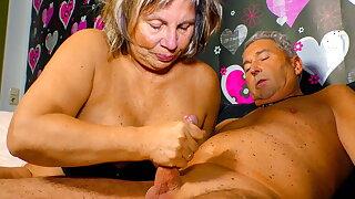 XXX OMAS - Naughty German Couple Has Some Fun On Sextape