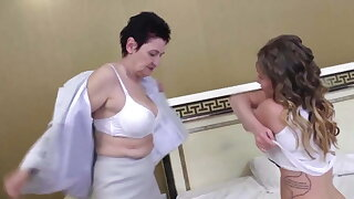 love the young girl – lovely natural fat
