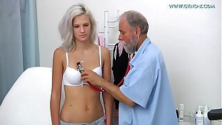 Barbara - 24 years old girl gyno exam