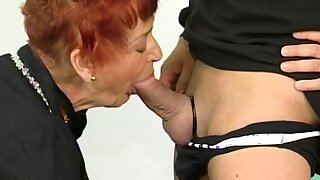 ugly granny first time fisted