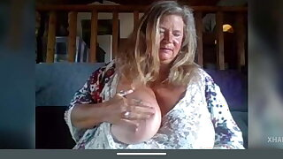 Granny vamp woman with big boobs and pussy part 1